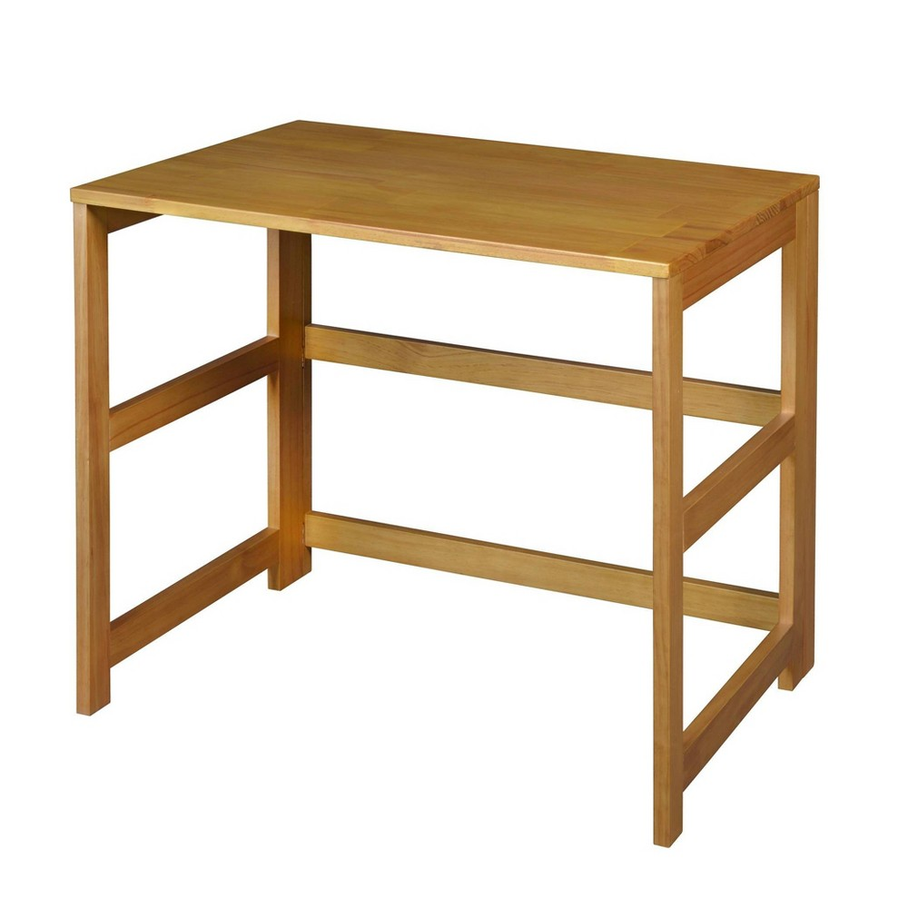 31 Cakewalk Folding Desk Medium Oak Regency