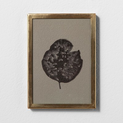 Framed Wall Art 5 x7  - Leaf - Hearth & Hand™ with Magnolia