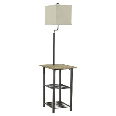 Shianne Floor Lamp Black - Signature Design by Ashley