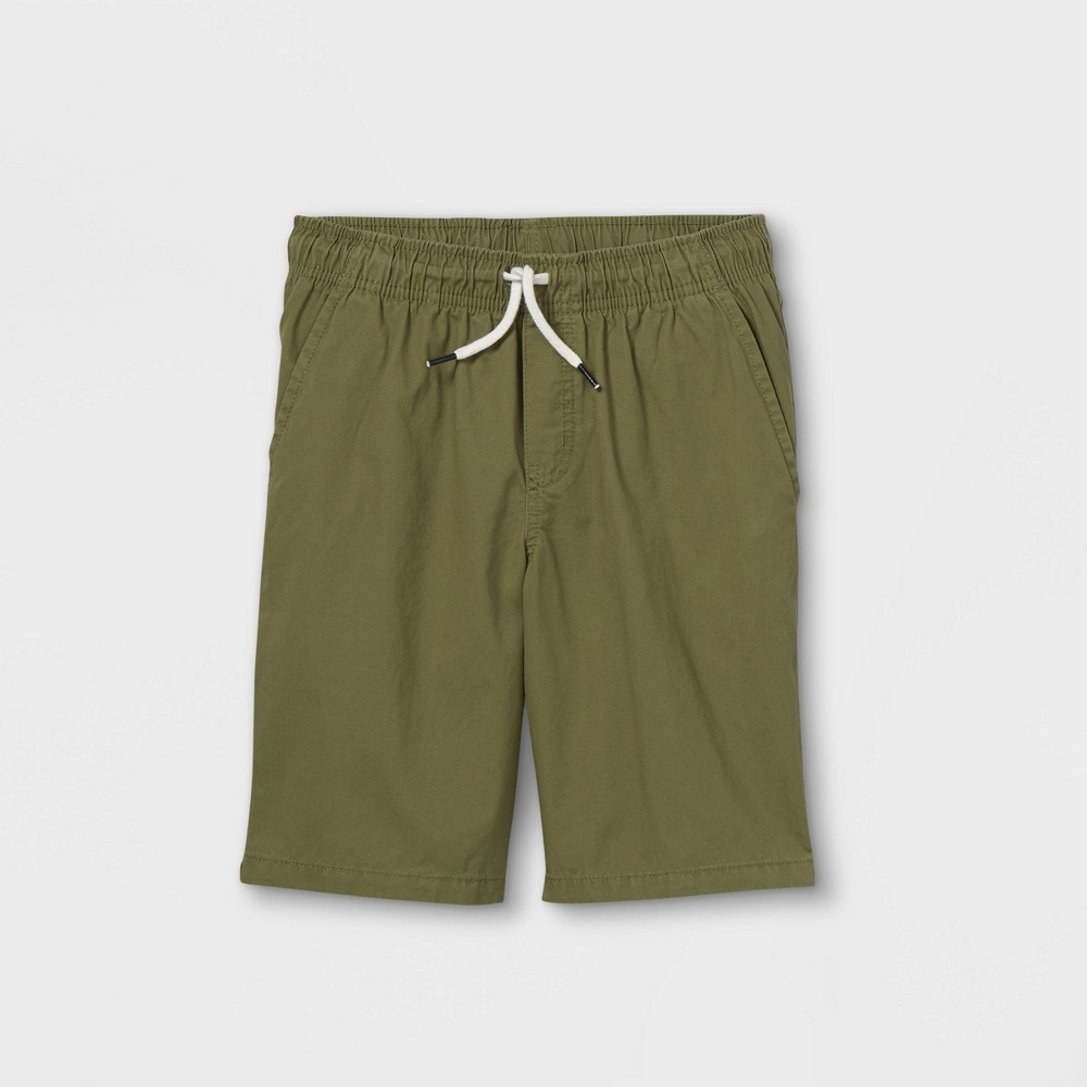 Boys 39 Woven Pull On Shorts Cat 38 Jack 8482 Green M