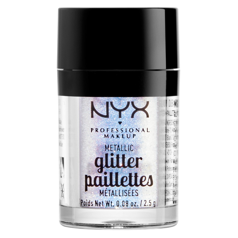 Nyx Professional Makeup Metallic Glitter Opal (White) - 0.08oz