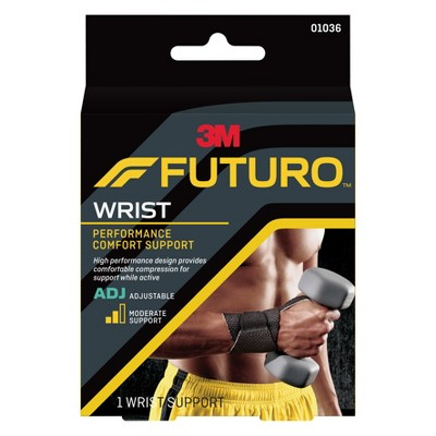 FUTURO Performance Comfort Wrist Support, Adjustable