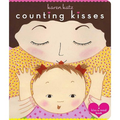 Counting Kisses by Karen Katz (Board Book)