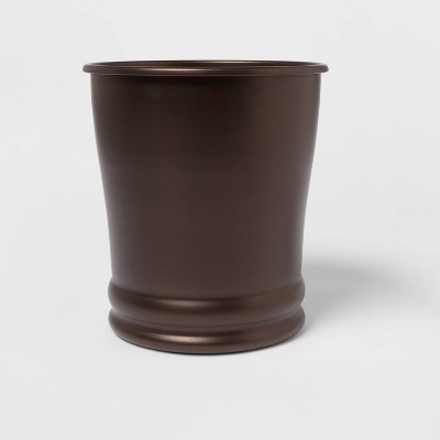 Round Wastebasket Bronze® - Threshold™