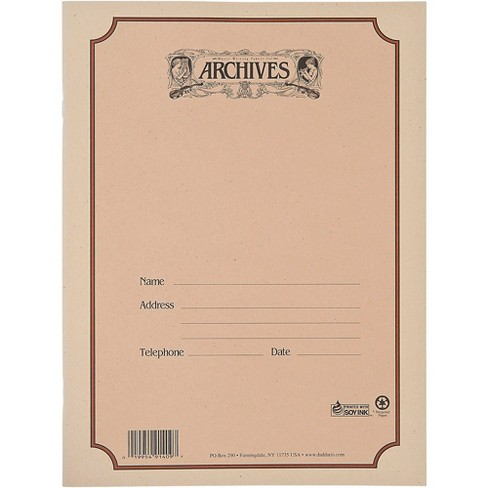 Archives Spiral Bound Manuscript Paper 12 Staves, 96 Pages - image 1 of 2