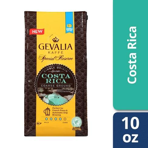 Gevalia Costa Rican Shade Grown Medium Roast Ground Coffee - 10oz - image 1 of 4