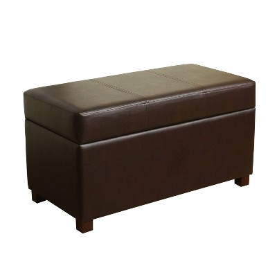 Essex Basic Storage Bench - Chocolate - Threshold™