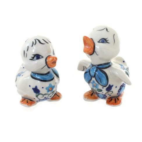 Blue Rose Polish Pottery Savannah Baby Duck Set - image 1 of 1