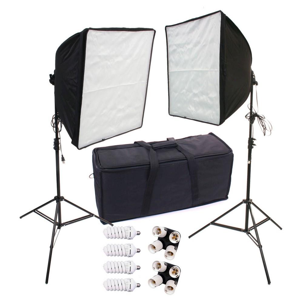 Digital Camera Accessory Kit Zuma, White Black