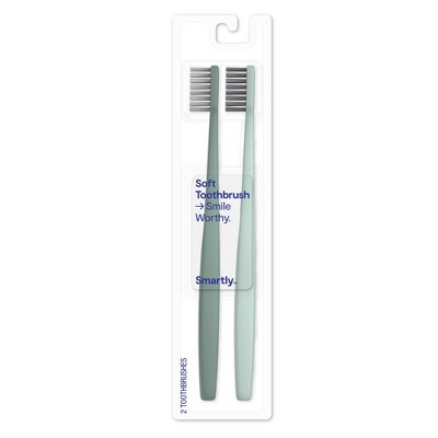 Manual Toothbrush - 2ct - Driftwood - Smartly™