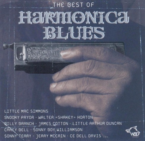 Various - Best of harmonica blues (CD) - image 1 of 1