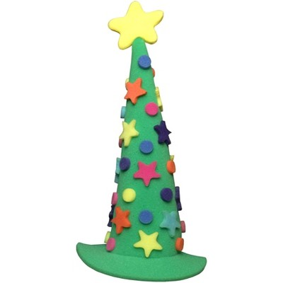 Funky Fresh Funky Fresh Christmas Tree Adult Foam Costume Hat