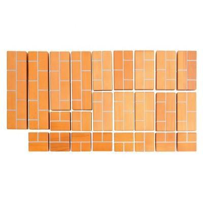 Kaplan Early Learning Unit Bricks - Construction Set for Children  - 24 Pcs