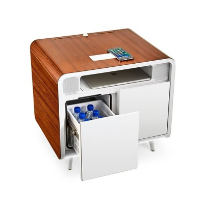 Smart Side Table with Cooling Drawer - Sobro