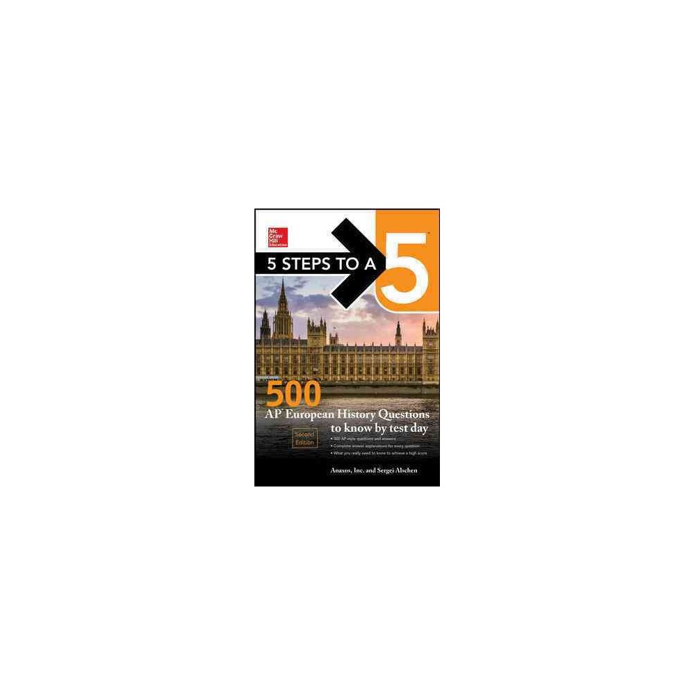 McGraw-Hill 5 Steps to A 5 500 Ap European History Questions to Know by Test Day (Paperback) (Sergei