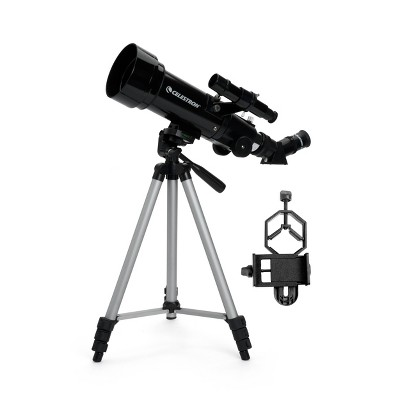 Celestron 70mm Portable Travel Telescope with Basic Smartphone Adapter