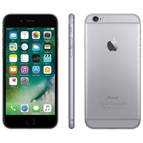 Total Wireless iPhone 6 32GB Space Gray - image 1 of 2