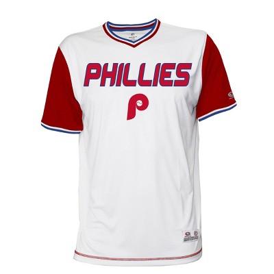 MLB Philadelphia Phillies Men's Gametime V-Neck Jersey