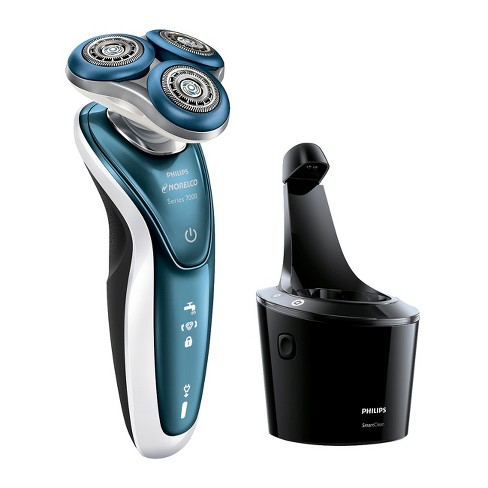 Philips Norelco 7500 For Sensitive Skin Wet   Dry Men s Rechargeable Electric  Shaver - S7371 84   Target 7993d35ae909
