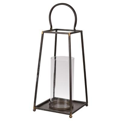 Sanders Metal Candle Lantern - A&B Home