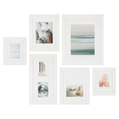 6pc Traditional Gallery Kit White - Instapoints