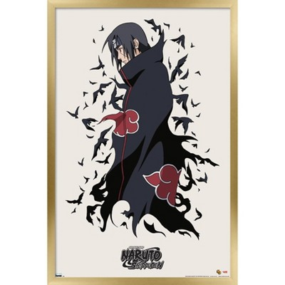 Trends International Naruto - Itachi Framed Wall Poster Prints