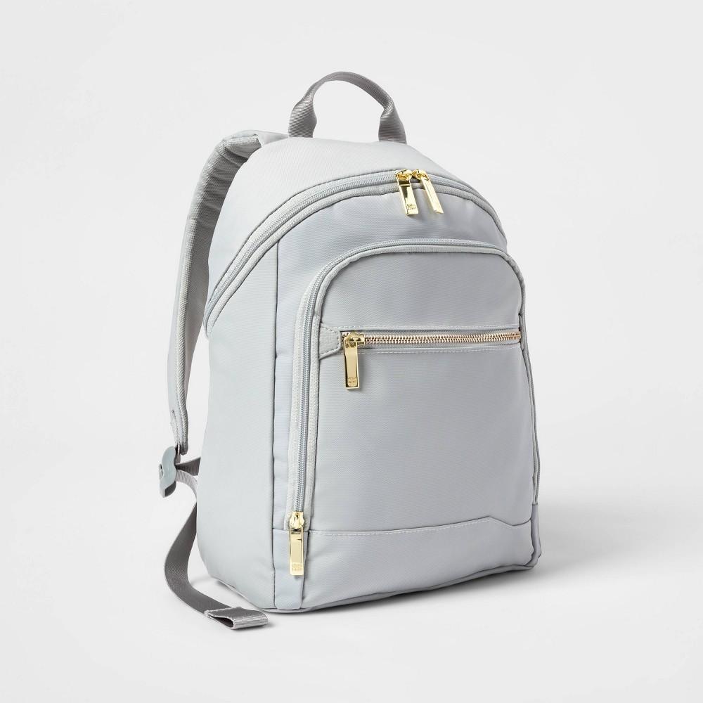 Image of City Mini Backpack Sage Green - Open Story , Green Green