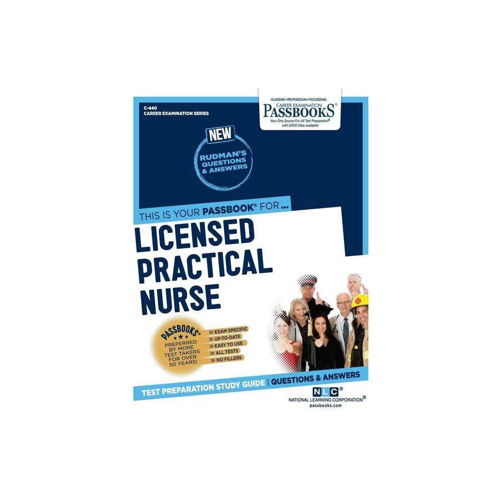 Licensed Practical Nurse Career Examination By National Learning Corporation Paperback