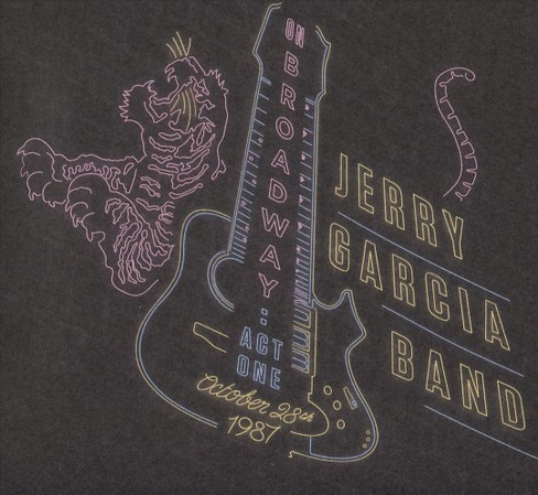 Jerry band garcia - On broadway:Act one october 28th 1987 (CD) - image 1 of 1