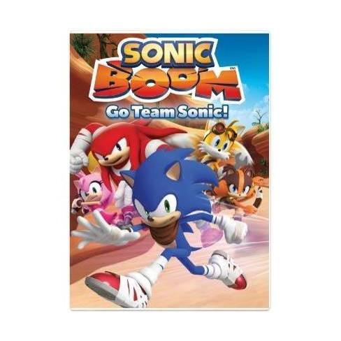 Sonic Boom Go Team Sonic Dvd Target