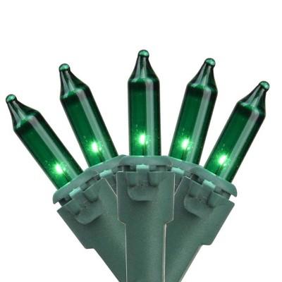 Brite Star 100ct Mini String Lights Green - 50' Green Wire