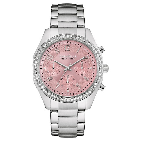 Caravelle New York by Bulova Women's Chronograph Stainless Steel Bracelet Watch - 43L191 - image 1 of 1