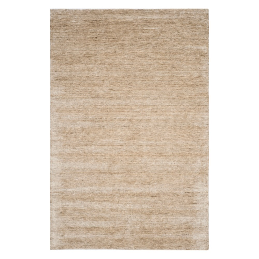 Best Review 6X9 Solid Area Rug Sandstone Brown Safavieh
