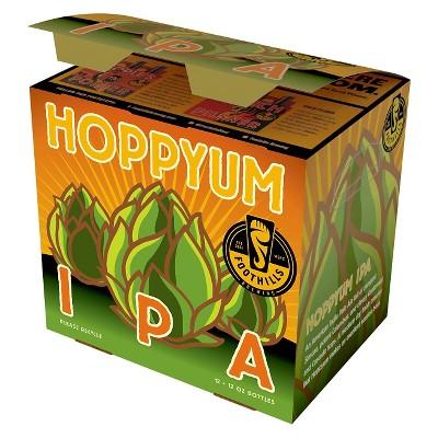 Foothills Hoppyum IPA Beer - 12pk/12 fl oz Bottles