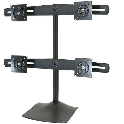 """Ergotron DS100 Monitor Stand Up to 24"""" Monitor Black (33-324-200)"""