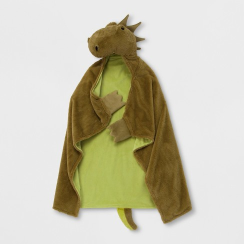 Dragon Hooded Blanket - Pillowfort™ - image 1 of 3