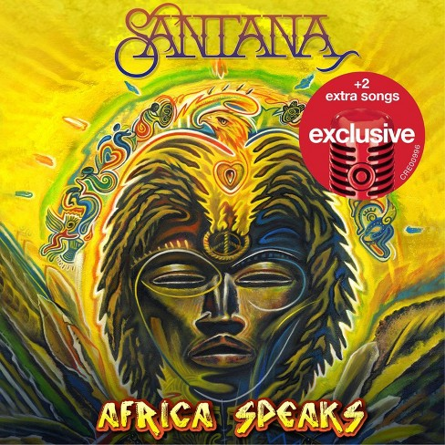 Santana - Africa Speaks (Target Exclusive) (CD) - image 1 of 1