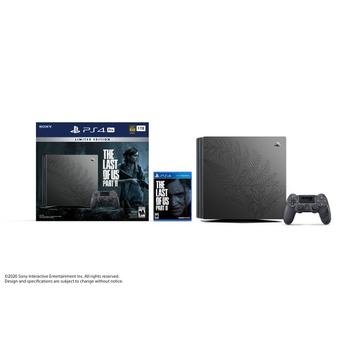 PlayStation 4 Pro 1 TB Limited Edition The Last of US Part II Bundle - image 1 of 3