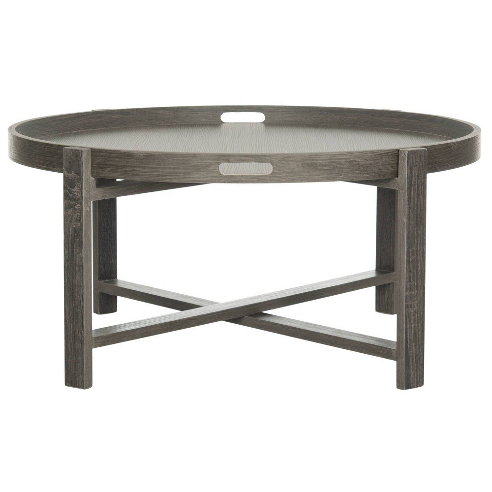 Buy Coffee Table Dark Gray - Safavieh