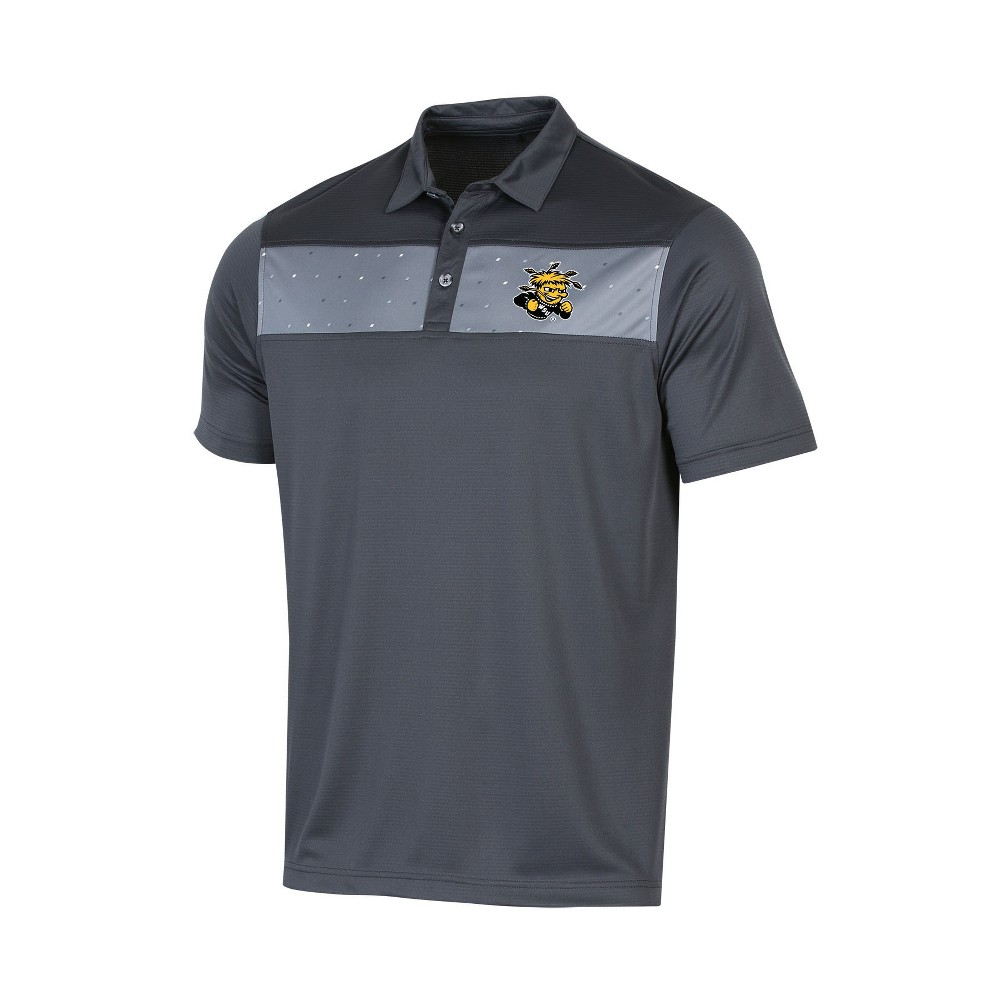 NCAA Men's Short Sleeve Polo Shirt Wichita State Shockers - XL, Multicolored
