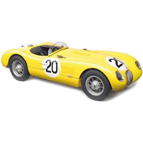 Jaguar C-Type #20 R. Laurent, C. de Tornaco 24H of Le Mans France (1953) Ltd Ed 1,000 pcs 1/18 Diecast Model by CMC - image 1 of 4