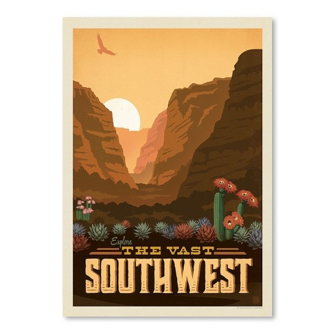 Americanflat Macys Southwest By Anderson Design Group Unframed Print Target