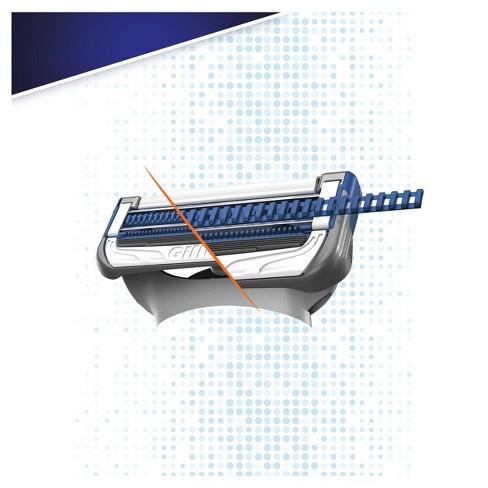 Gillette SkinGuard Men's Razor - 1 Handle + 2 Razor Blade Refills