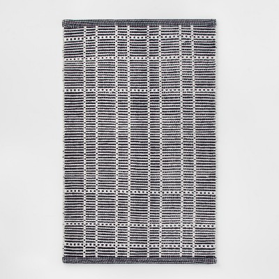 1'8 X2'10  Plaid Woven Accent Rug Blue - Room Essentials™