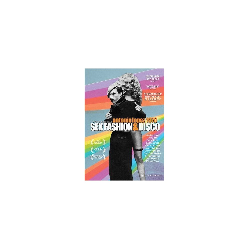 Antonio Lopez 1970:Sex Fashion & Disc (Dvd)