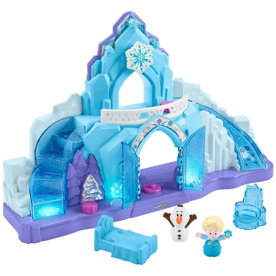 Fisher-Price Little People Disney Frozen Elsa's Ice Palace image number null