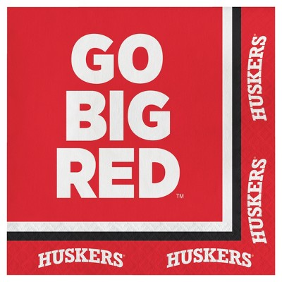 20ct University Of Nebraska Cornhuskers Napkins - NCAA