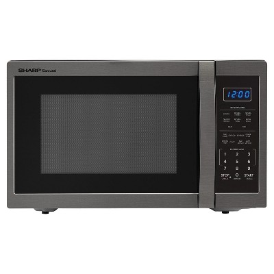 1.4 Cu Ft 1100w microwave with 12.4  turntable, Sensor. Blue LED Display