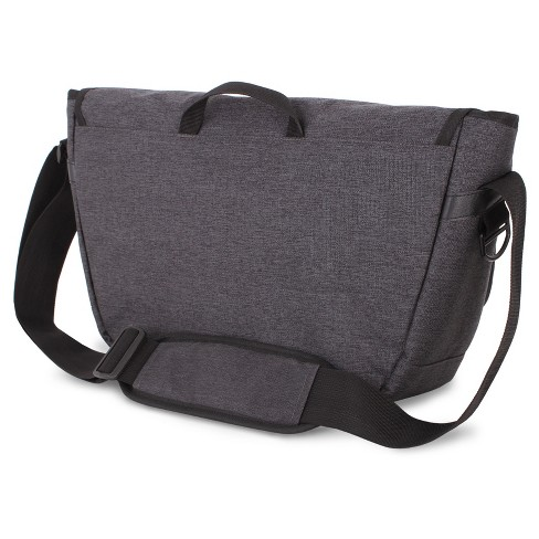 SWISSGEAR Getaway Messenger Bag - Heather Gray   Target eb94060991cee