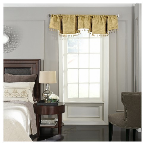 "Germaine Blackout Window Valance (48""x18"") - Beautyrest - image 1 of 2"